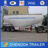 두바이에 있는 반 세 배 차축 시멘트 유조선 시멘트 트럭 분말 트레일러