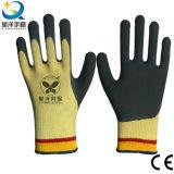 Вкладыши Кевлар, нитрил пены покрыли, перчатки сопротивления отрезока Anti-Cut/, перчатки работы, перчатки безопасности, работая перчатки