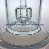 Plate-forme pétrolière en verre de conduite d'eau d'oeufs ouvriers en verre en gros de Hitman avec le tambour Perc