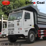 중국 70 톤 광업 팁 주는 사람 대형 트럭 (WD615.47T2)