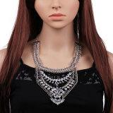 パーソナリティーレトロのダイヤモンドの鎖の合金のネックレス