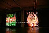 유연한 LED 스크린 P4 Galaxias-4 연약한 LED 커튼