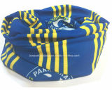 China-Fabrik Soem-Erzeugnis passte Firmenzeichen gedruckten Multifunktionsschal Headwear an