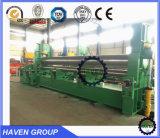 W11-20X2500 Máquina mecanizada de rolo e dobramento de três tipos mecânicos