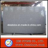 Losa blanca del granito G603 de la losa del sésamo natural de la piedra (DES-GS023)