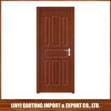 40mm épais dernière conception PVC Porte en bois porte de la salle intérieure de porte