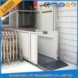 lift van het Huis van de Rolstoel van 1m12m de Hydraulische Liften Gehandicapte met Ce