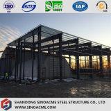 Edificio estructural prefabricado del taller del marco de acero