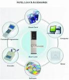 Blocage de porte électronique ignifuge de carte d'hôtel de garantie de qualité