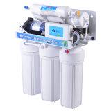 Etapa 5 Sistema purificador de agua de Osmosis Inversa con 5 Pantalla de lámpara para el hogar