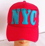 Moda Parche bordado casquillo de los deportes del casquillo gorra de béisbol