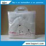 Sac en PVC textile avec crochet Sac en plastique imperméable pour vêtement