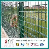 Проволочная изгородь петли PVC Coated двойная/проволочная изгородь 50X200mm металла двойная