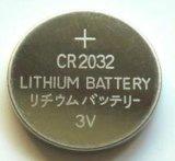 3V 240mAh Cr2032 Cellule à bouton au lithium pour télécommande sans fil