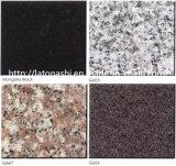 フロアーリングのための磨かれた自然で白くか黒くまたは赤または灰色または黄色または緑またはブラウンの花こう岩か階段またはカウンタートップ