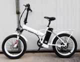 20-дюймовый складной велосипед с электроприводом жира с задней стойки