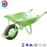 """Wheelbarrow modelo de borracha contínuo de France do pneumático de roda 15 """" X3 """""""
