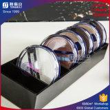 Support compact acrylique bon marché clair de qualité pour la promotion