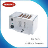 Тостер горячей нержавеющей стали сбывания коммерчески с 4-Slice