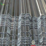 Strato ad alta resistenza di Decking del pavimento del metallo della Cina