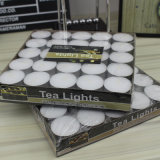 100PC White Tealight Candle in Polybag 16g