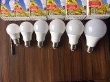 安い価格LED軽い15Wプラスチック上塗を施してあるアルミニウムGloble A60コンパクトなランプ