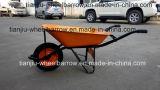 Carrinho de mão de roda resistente para os construtores (WB6400)