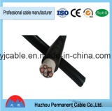 Prix inférieurs de cordon de câble de Yjv de câble de Volatge 3X185mm2 XLPE