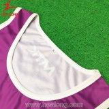 Healong personalizou o Netball Jersey da impressão do Sublimation do Sportswear