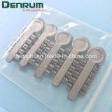 Cuneo elastico di rotazione dei materiali ortodontici di Denrum