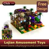 Parc du château pour Kids Indoor Terrain de jeux en plastique (T1419-6)