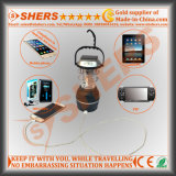 Lumière solaire rechargeable à LED avec 1W de lampe de poche, Dynamo, USB (SH-1992A)