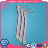 Wegwerfreinigungs-Gummigriff-Zahnbürste-Interdental Pinsel