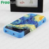 CustomedのブランクのiPhone 5のための第2 3D昇華電話箱