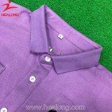 Healongの上の販売のスポーツ・ウェアの完全な染料の平野の長い袖のポロシャツ