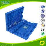 Caixa Stackable e Foldable plástica do armazenamento para o transporte