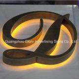 Belichtetes LED-Acrylzeichen-Zeichen