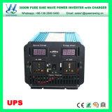 inverseur pur à haute fréquence d'onde sinusoïdale 3000W avec le chargeur (QW-P3000UPS)
