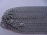 1-12mmの鉄の球の鎖のステンレス製の真鍮の鋼鉄金属のビードの球の鎖