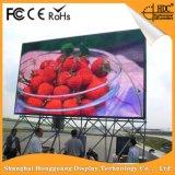 P8.9 al aire libre LED que hace publicidad de la pantalla de visualización del surtidor de China