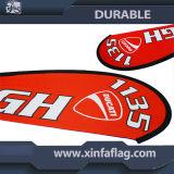 De calidad superior de la venta caliente impresión de la insignia de la bandera de visualización personalizada