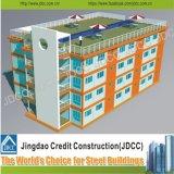 Vorfabriziertes Hotel-Gebäude-Licht-Stahlkonstruktion