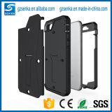 Célula híbrida de Shochproof/cubierta/caja del teléfono móvil para el iPhone 7plus con Stander