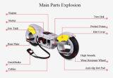 2つの車輪の永続的なバランスのガスのスクーターForthgoer