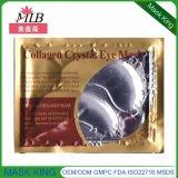 Kollagen-Kristall unter Augen-Schablone