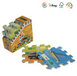 Jigsaw rompecabezas de papel de regalo de promoción
