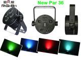 4*8W Rgbwy +UV LEDの平らな同価はライトを活動化できる