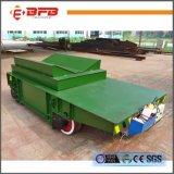 Carro de levantamento hidráulico de transferência do trilho para a fresa de aço