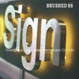 ブラシをかけられたSsの経路識別文字Signboard/LEDの印のボード