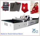 Équipement de coupe de vêtements de coupe de tissu